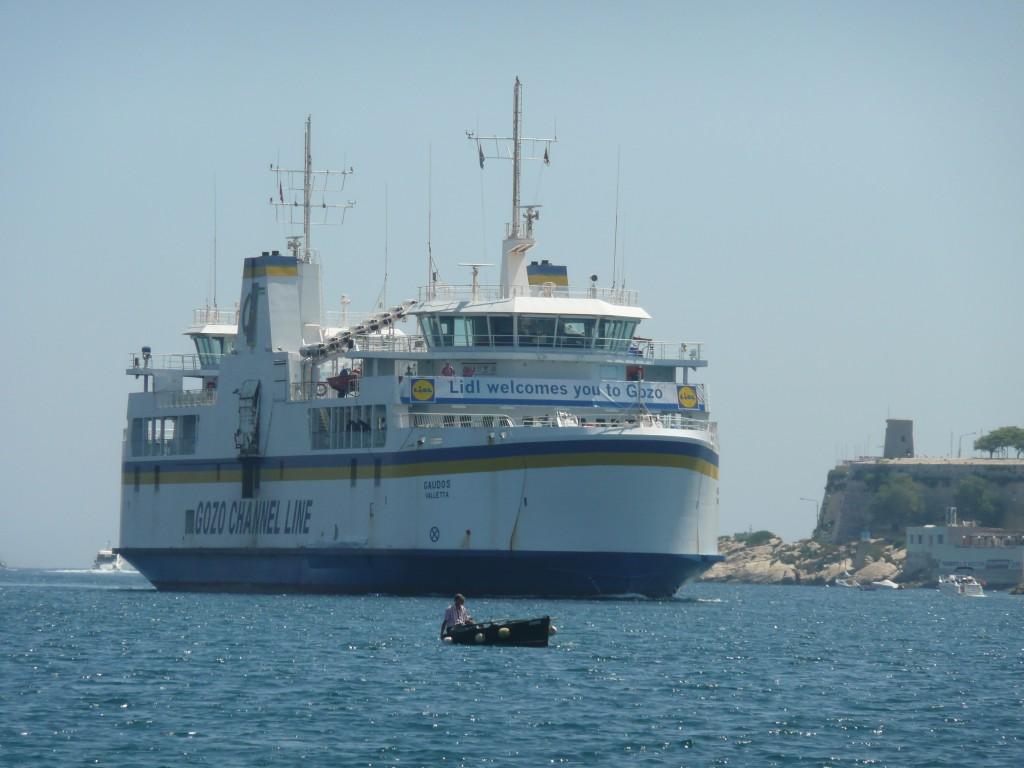 Trajekt společnosti Gozo Channel