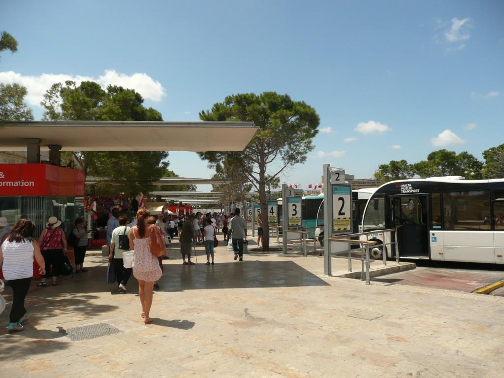 Autobusové nádraží Valleta