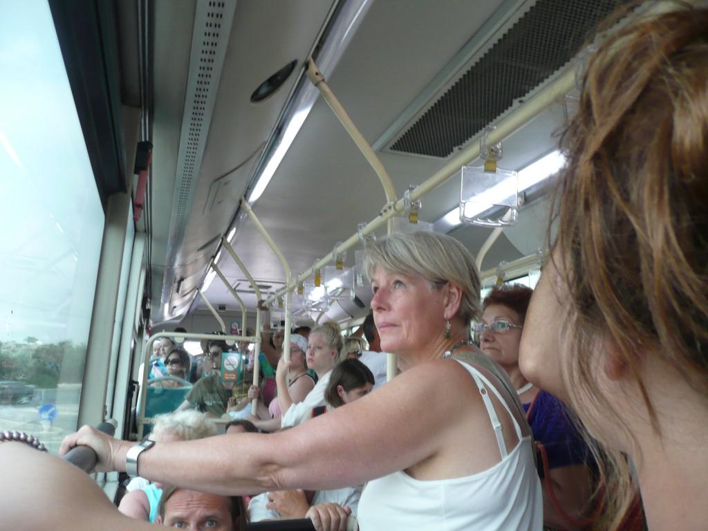 Autobus směr Marsaxlokk