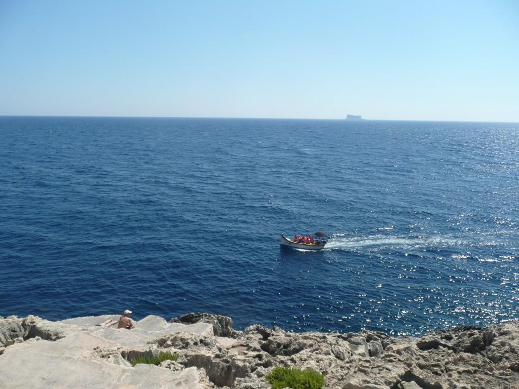 Lodě Luzzu - Blue Grotto