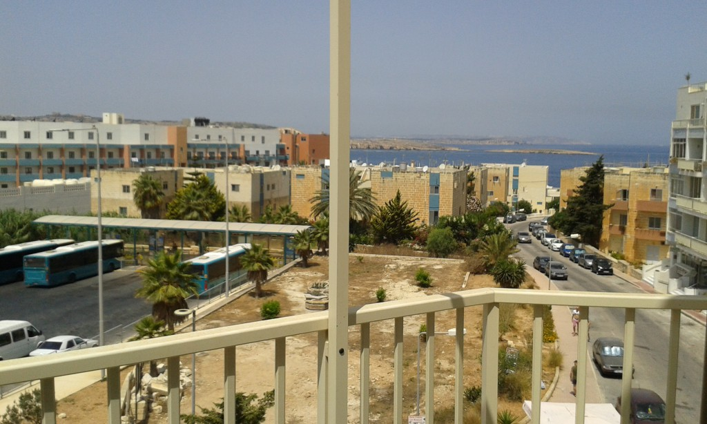 Sea view z našeho bytečku