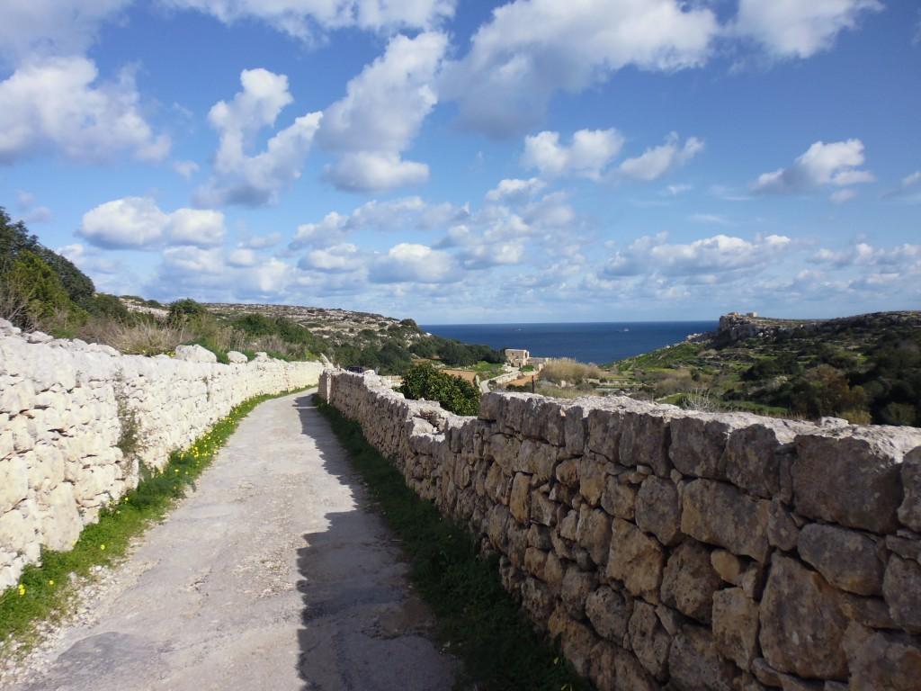 Cestou na Selmun Bay