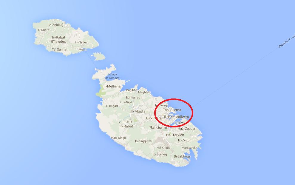 Sliema, Msida, Gzira, Tax-Biex, St. Julian´s